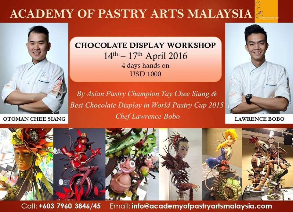 Academy-Pastry-Arts-Malaysia-Chocolate-Display-Workshop-Chef-Lawrence-Chef-Ottoman